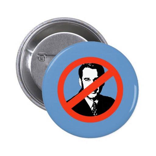 ANTI-BOEHNER: Anti-John Boehner Button