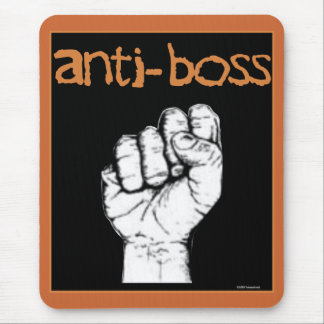 Anti Boss slave wages union workers rights labor Mouse Pad
