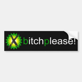 Anti-BP Bumper Sticker Dark