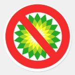 Anti-BP Classic Round Sticker