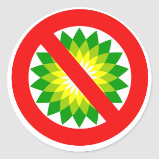 Anti-BP Classic Round Sticker