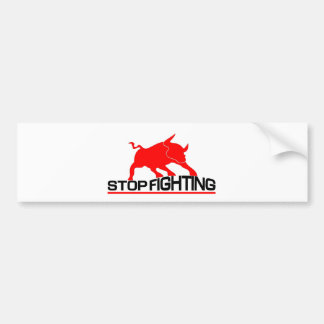Anti Bullfighting Bumper Stickers