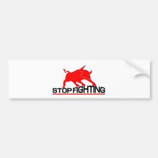 Anti Bullfighting T-Shirt Bumper Sticker