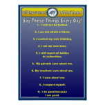 Anti-Bully Daily Affirmations Wall Chart / Poster