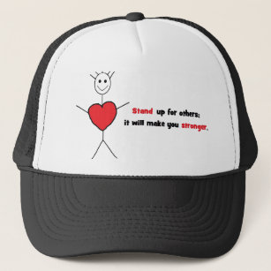 anti bullying hats caps zazzle