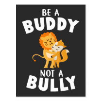 Anti Bullying Awareness Be Kind Buddy Postcard