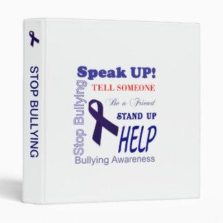 Anti Bullying Awareness Binder