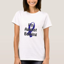 Anti-Bullying Blue Ribbon T-Shirt