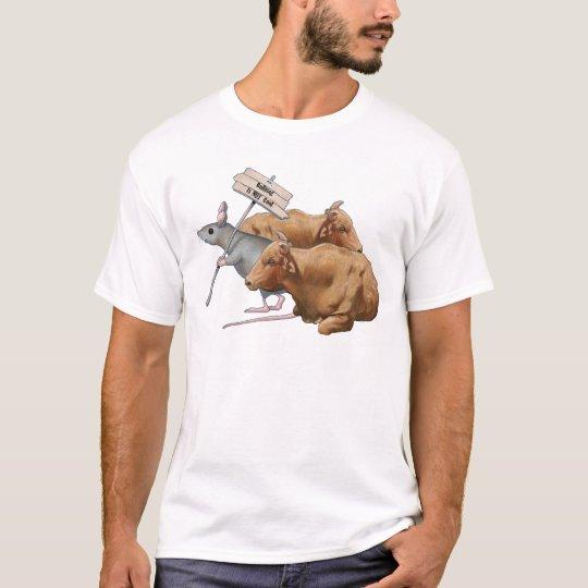 Anti-Bullying: Bulls, Mouse: Bullying NOT Cool T-Shirt
