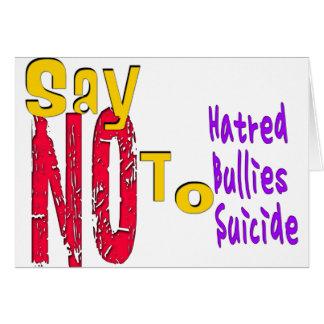 Anti-Bullying Card