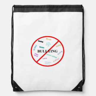 Anti Bullying Drawstring Backpack
