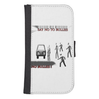 Anti-bullying Galaxy S4 Wallet Case