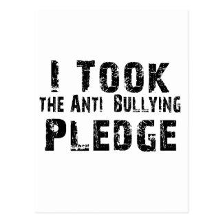 Anti Bullying Pledge Postcard