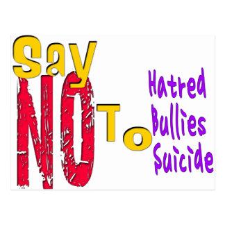 Anti-Bullying Postcard