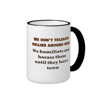 Anti-bullying Ringer Coffee Mug
