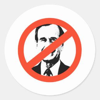 ANTI-BUSH - Anti-George H Bush Pegatinas