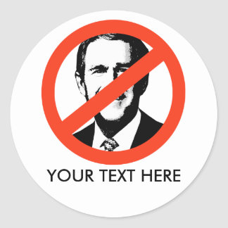 ANTI-BUSH - Anti-George W Bush Pegatinas