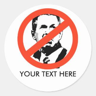 ANTI-BUSH - Anti-George W Bush Pegatina