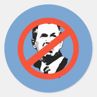 ANTI-BUSH - Anti-George W Bush Etiqueta
