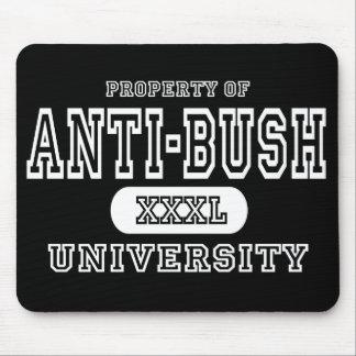 Anti-Bush Univeristy Dark Mouse Pad