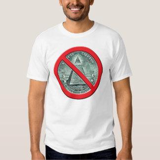 Anti - camiseta de Illuminati Playera