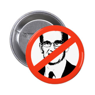 ANTI-CANTOR: Anti-Eric Cantor 2 Inch Round Button