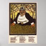 Anti-Capitalismo 1920 de URSS Unión Soviética Posters