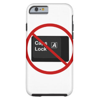 Anti Caps Lock Phone Case