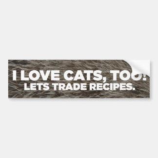 Anti-Cat Bumper Sticker