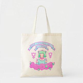 Anti-Catcall Tote Budget Tote Bag