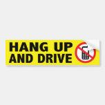 Anti-Cell Phone Bumper Sticker Car Bumper Sticker