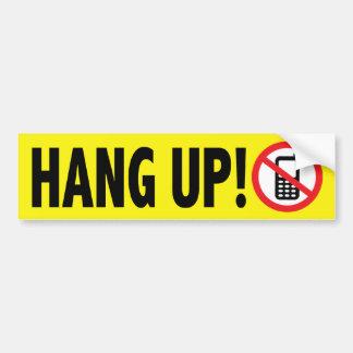 Anti Cell Phone Texting Bumper Sticker