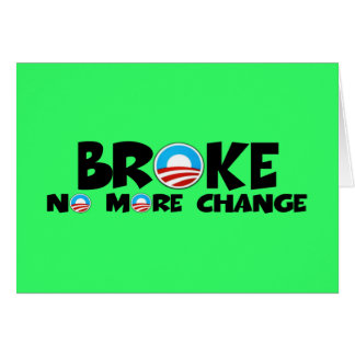 Anti change,anti Obama Card
