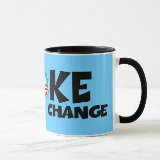 Anti change,anti Obama Mug