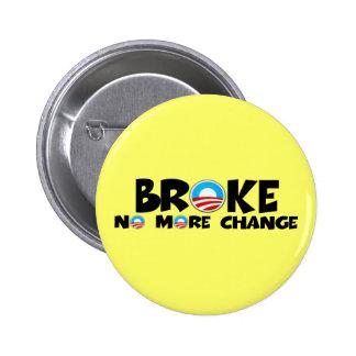 Anti change,anti Obama Pinback Button