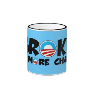 Anti change,anti Obama Ringer Mug