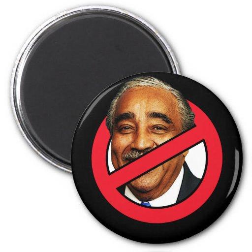 Anti Charlies Rangel 2 Inch Round Magnet