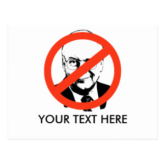 ANTI-CHENEY ANTI-Dick Cheney Postcards