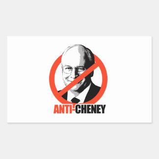 Anti-Cheney Rectangular Sticker