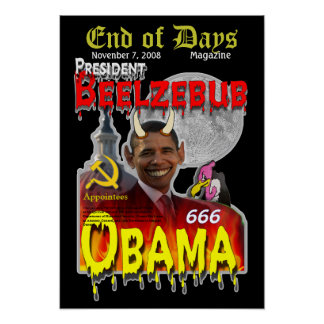 Anti-Christ/Obama Poster