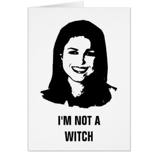 Anti- Christine O'Donnell Greeting Card