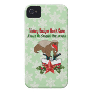 Anti-Christmas Honey Badger Blackberry Bold Cases