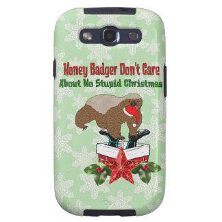 Anti-Christmas Honey Badger Galaxy SIII Case