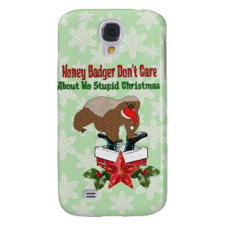 Anti-Christmas Honey Badger Galaxy S4 Case
