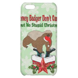 Anti-Christmas Honey Badger iPhone 5C Cover