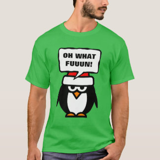 Anti Christmas t shirt with sarcastic quote