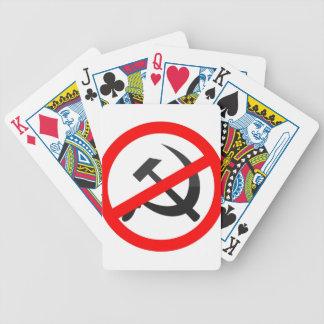 Anti-Communism Bicycle Playing Cards