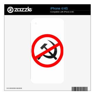 Anti-Communism iPhone 4 Decal