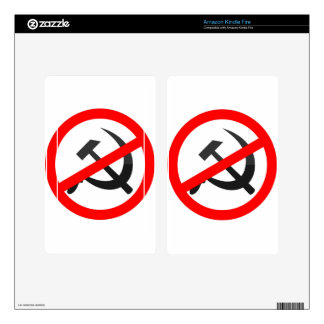 Anti-Communism Skins For Kindle Fire