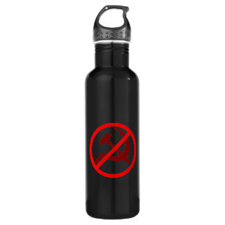 Anti-Communist Stainless Steel Water Bottle